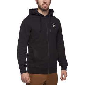 Black Diamond Stacked Sweat à capuche zip intégral Homme, black